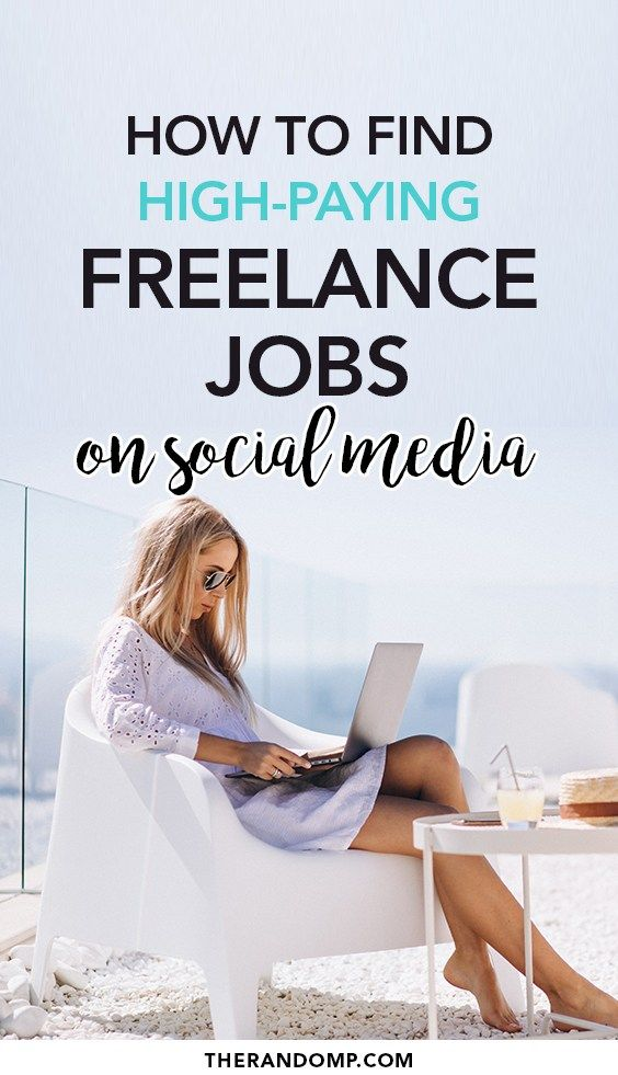 Find Freelance Jobs On Social Media With These 6 Outstanding Ideas Freelancing Jobs Social Media Jobs Social Media