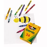 Great for younger students, these Crayola Assorted Crayons are easy to grip and come in a pack of 24 vibrant colours.