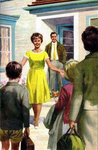 Visitas, ilustração de J. H. Wingfield.