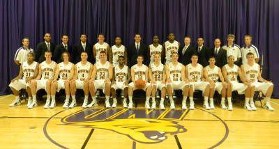 2011-2012 Men's Basketball Roster