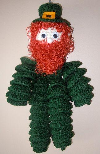 Irish Leprechaun crochet pattern