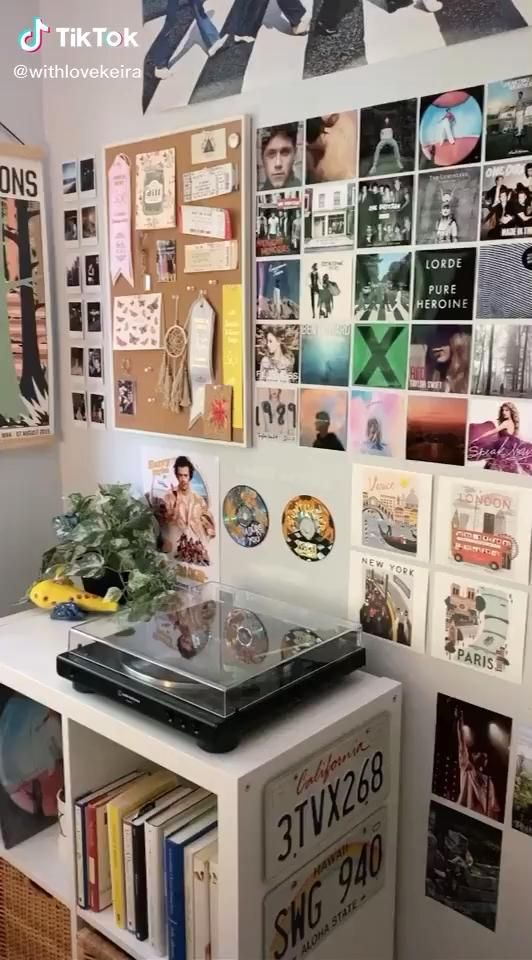 Creds To Withlovekeira On Tiktok Grunge Room One Direction Room Indie Room Decor