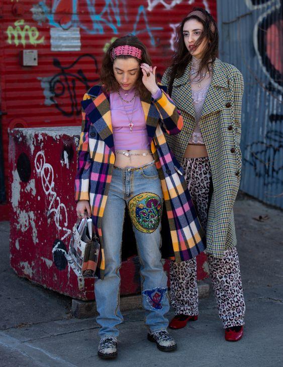 Street style at New York Fashion Week Women's Fall 2019
