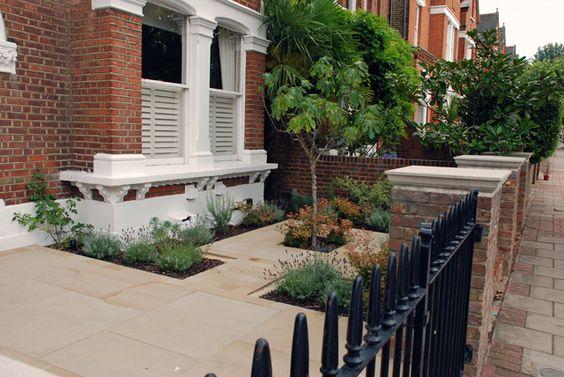 Victorian Terraced House Garden Design Ideas : Front gardens and garden design on
