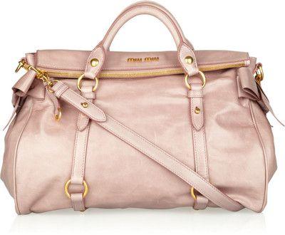 Vitello bow-embellished leather tote  $1,595. Gorgeous!