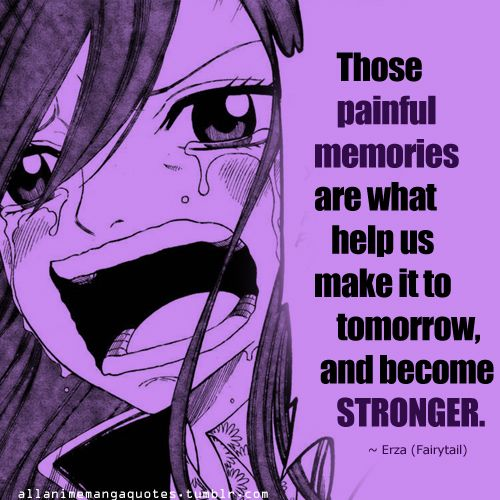 Erza Scarlet's quote from Fairytail