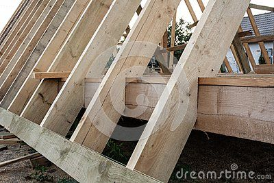 Fastening Of Rafters To The Floor Construction Of Frame House Parts Construction Of Frame House Aframeh A Frame House Kits A Frame House Plans A Frame House
