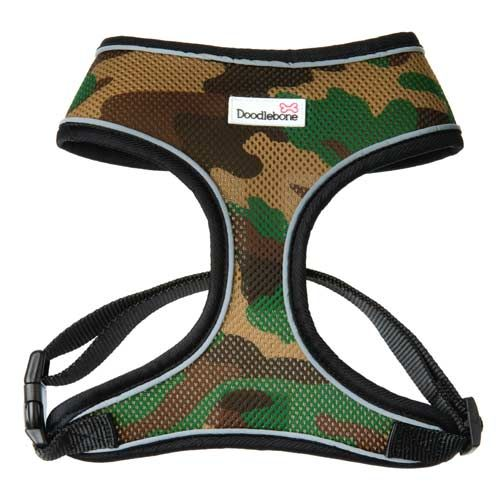 Air Mesh Dog Harness Camouflage Small Dog Harness Dogs