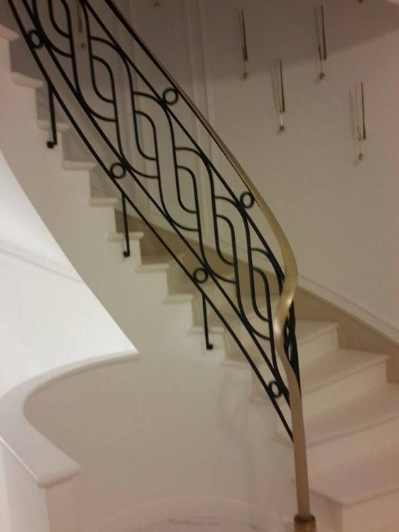 40 Modern Stair Railing Ideas Best Staircase Safety Grill Design 2019 Staircase Railing Design Modern Stair Railing Staircase Handrail