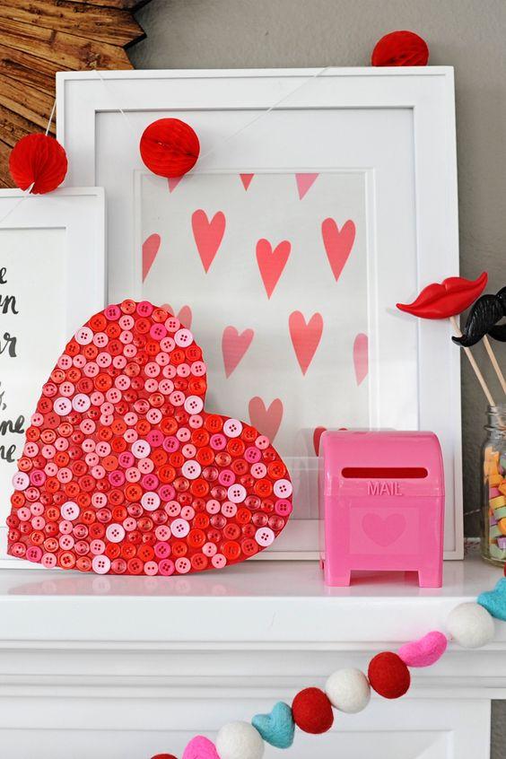 Valentine S Day On Heart Craft Ideas