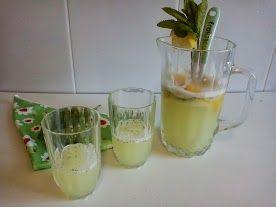 limonada a la hierbabena   Más que tartas