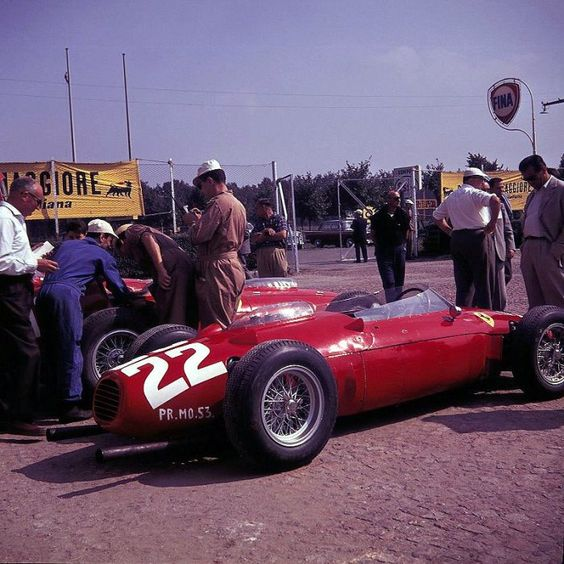 monza 1960   1960 GP de Italia Ferrari Dino 146 P[F2] #22 de Wolfgang von Trips en ...