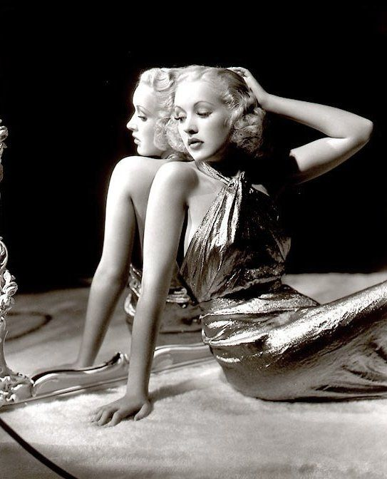 Betty Grable 1937 - Photo by George Hurrell