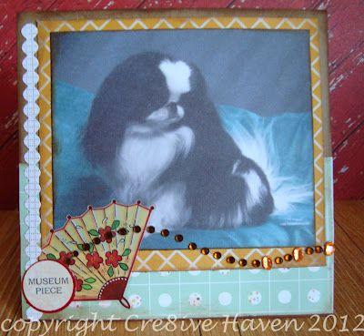 Canine card: Pretty lady
