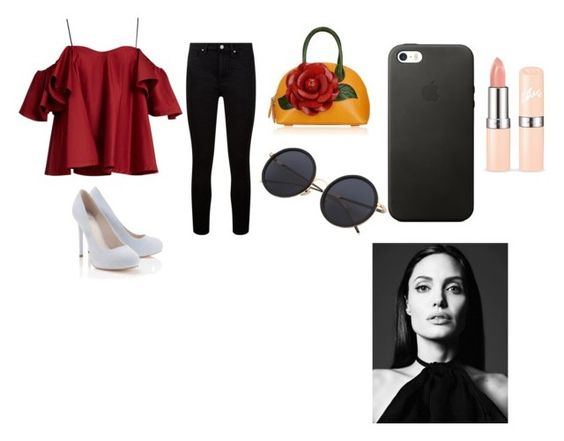 """""""my style"""" by lilyhasyim-824 ❤ liked on Polyvore featuring Anna October, Paige Denim and Lipsy"""