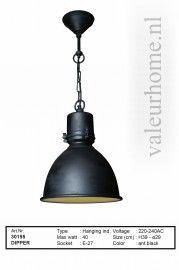 Hanglamp Dipper zwart