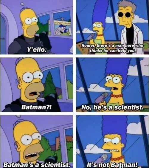 El bueno de Homero :)