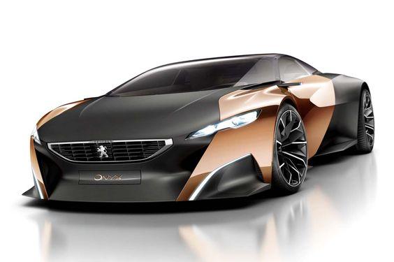 Peugeot Onyx: V8 e elétrico somam 680 cv | Best Cars