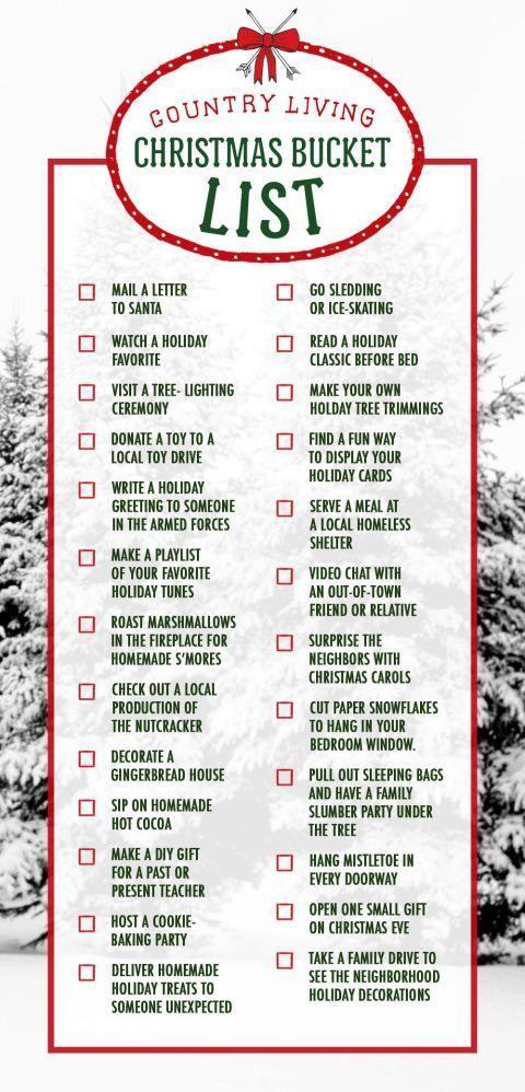 Christmas to do list (Made this, by the way) christmas - christmas checklist template