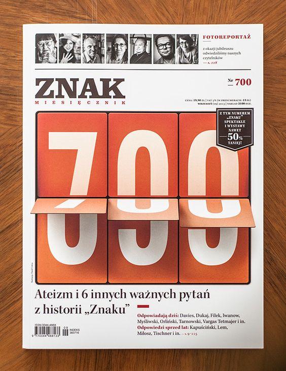 Znak, No 700 by Paweł Jońca, via Behance