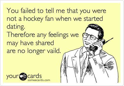 not a hockey fan? CAN'T DO IT.