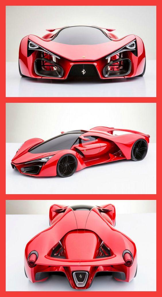 Ferrari F80 Supercar by Adriano Raeli