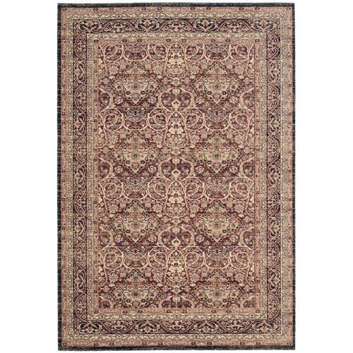 Bloomsbury Market Carpet Amora In Red Brown In 2020 Navy Cotton Rug Area Rugs Cotton Rug