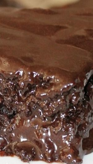Triple Chocolate Coca-Cola Sheet Cake   Pintastic Food ...