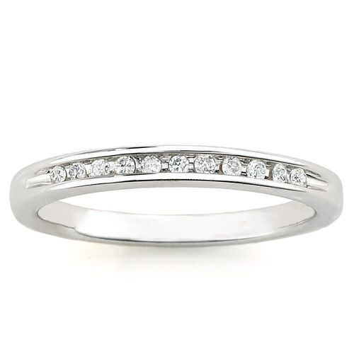 Always & Forever Platinaire 1/12 carat Diamond Band $98 - Available at Walmart