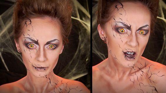 Maquillage Halloween / Démon / Possédée