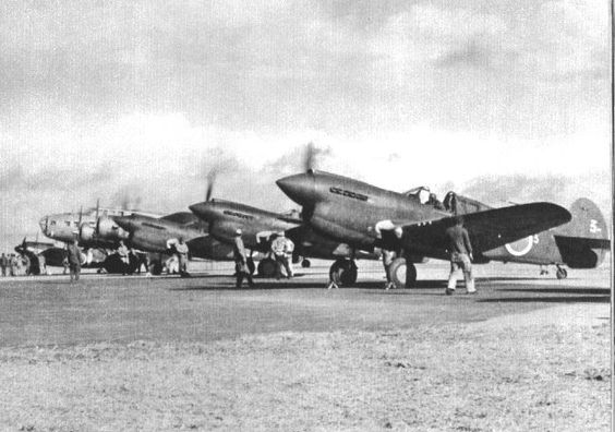US Tomahawks and B25 captured by Japanese