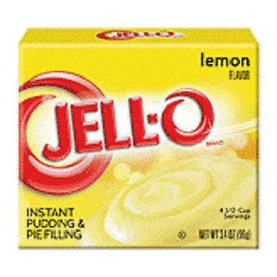 Jell-O Lemon Instant Pudding Dessert Mix