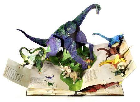 Динозавры от Роберт Сабуда и Мэтью Рейнхарт (у нас есть это, и это удивительно !!):