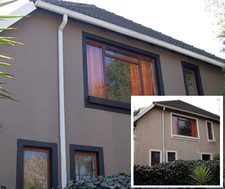 Image gallery house painting south africa - Exterior paint colours uk gallery ...