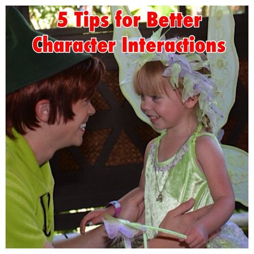 5 Tips For Better Character Interactions at Disney