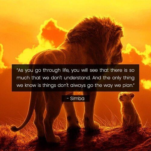 Lion King Quote Gallery In 2020 Lion King Quotes King Quotes