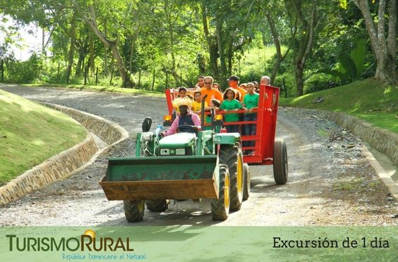 "Educational Farm ""Guanuma""   We offer this trip to kids above 5 yrs. They will learn the process of egg production (industrial level), also will taste a very sweet dominican chocolate and they will learn how organic energy is made.   More info: ✉: info@turismorural.do"
