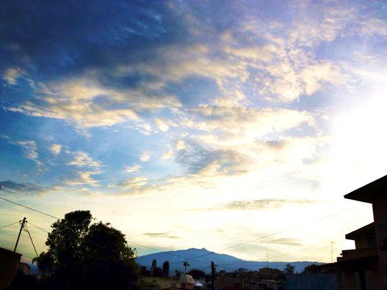 Nubes y el Cofre de Perote.