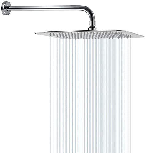 Buy Rain Shower Head With Extension Arm Nearmoon Square Shower