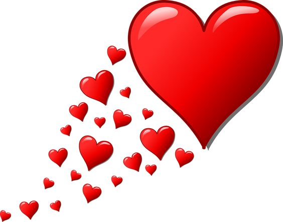 Free Image On Pixabay Hearts Trail Valentine Romantic Heart Wallpaper Valentines Heart Clip Art