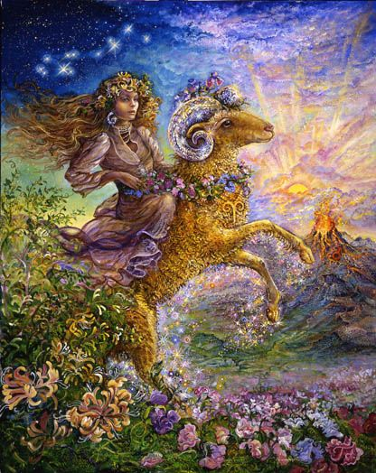 ARIES BY JOSEPHINE WALL