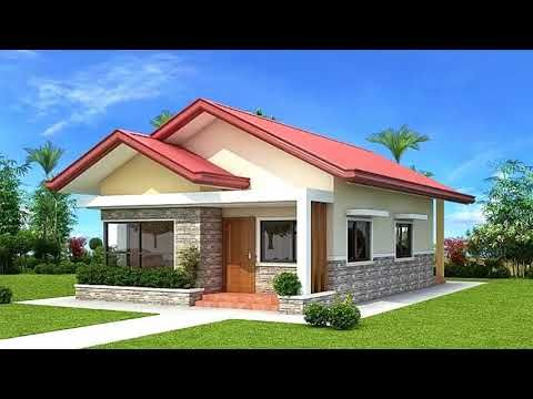 8 Different Design Of A 3 Bedroom Bungalow House Youtube One Storey House Bungalow House Plans Two Bedroom House