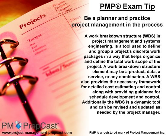 Pmp Exam Tip Be A Planner And Practice Project Management In The Process Exams Tips Pmp Exam Exam