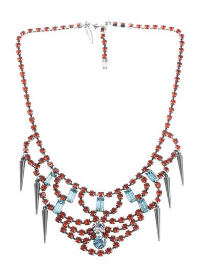Joomi Lim - Crystal and spike necklace. £255.00
