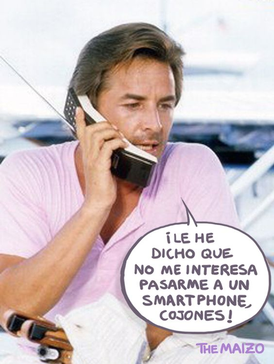 Me insisten en tarifas bajísimas con un smartphone de regalo... ¡Pero si yo gasto cinco euros cada seis o siete meses para qué quiero un smartphone!