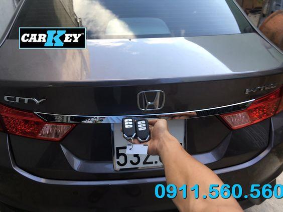 Làm Chìa Khóa Smartkey Ô Tô Honda City