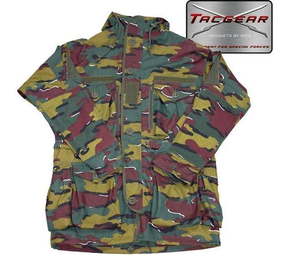 TacGear TacGear Smock Version II, belgisch tarn / mehr Infos auf: www.Guntia-Militaria-Shop.de