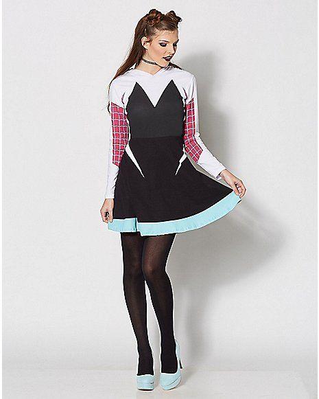 Hooded Spider Gwen Skater Dress - Spencer's