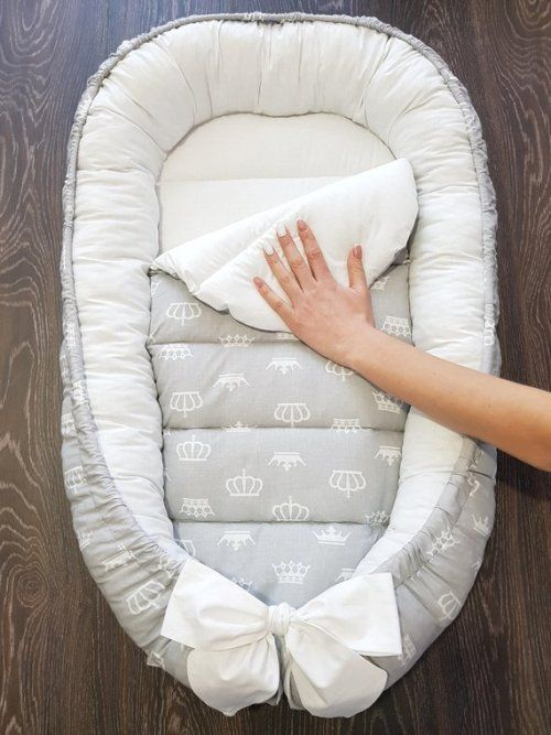 Buy Now Ready To Ship Double Sided Babynest Baby Nest Baby Baby Nest Baby Lounger Baby Smiles