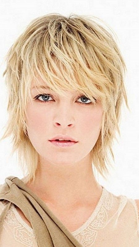 short messy hair styles hairstyles shag and hairstyles on 8987 | ed5cbee28f66dcd855afac75fe2cd6f8